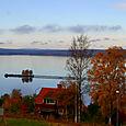 Pier on Lake Siljan
