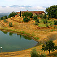 A small Tuscan reservoir