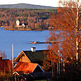 Lake Siljan at Rattvik