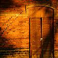 A door in Stockholm