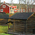 Houses in Rattvik