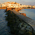 Naxos walkway to Portara