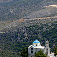 Church in Naxos mountains