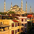 The Blue Mosque in the morning