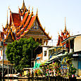 Temple in Old Bangkok