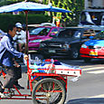 Carting through Bangkok