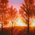 Midsummer Sunset in Dalarna